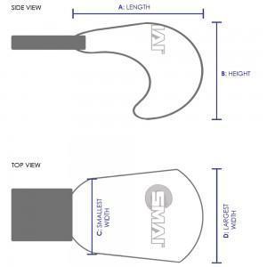 slika za velikost WKF rokavic