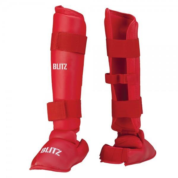 Ščitnik za golen in stopalo PU Elite s snemljivim stopalnim delom2