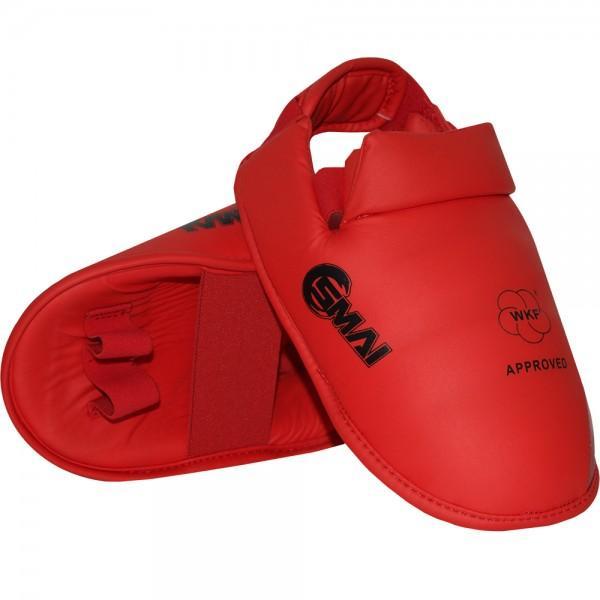 Ščitnik za stopalo WKF Approved, SMAI, rdeč
