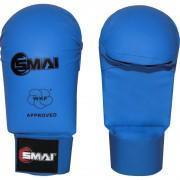Karate rokavice, brez prsta, SMAI, WKF approved, modre